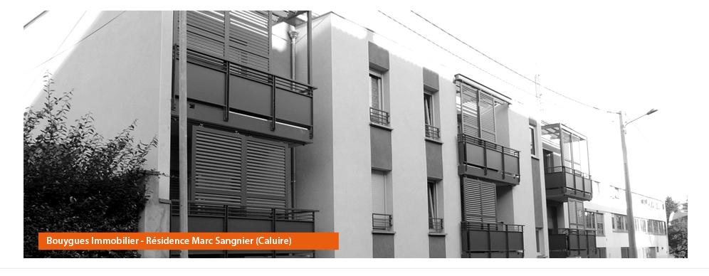 Bouygues Immobilier - Résidence Marc Sangnier (Caluire)